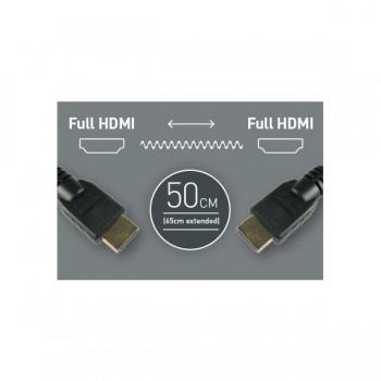 Atomos HDMI auf HDMI Spiralkabel, ca. 50-65 cm lang