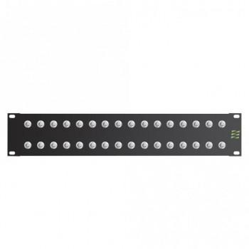 Video-Patchfeld 32 x BNC HD-SDI, 2HE