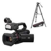 Panasonic AG-CX10 incl. Manfrotto MVK500AM Stativsystem