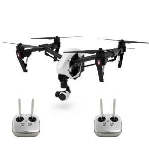 DJI Inspire 1 Quadrocopter mit 4K Kamera und zwei Fernsteuerungen