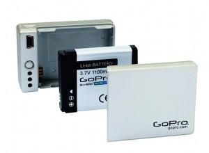 GoPro Battery BacPac aufsteckbare Halterung für Zusatzbatterie