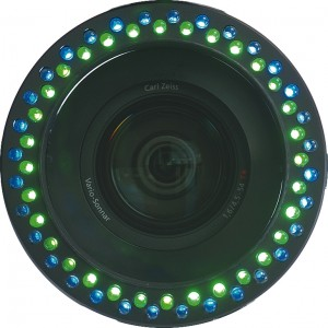 Datavideo LD1/72mm LED Ring mit blauen und grünen LEDs