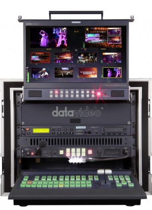 DataVideo MS-2800 A 8/12 Kanal SD/HD mobiles Studio