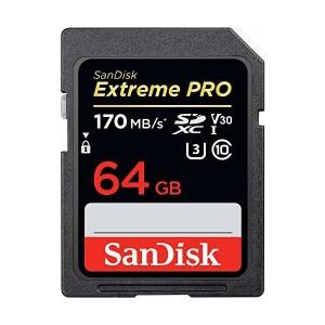 SanDisk Extreme Pro 64GB SDXC Karte 170MB/s