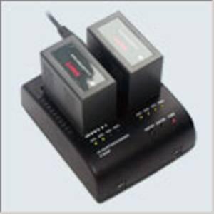 SWIT S-3602P, 2 Kanal Simultan Netz-/Ladegerät für Panasonic CGA