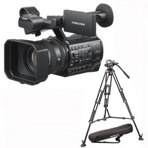 Sony HXR-NX200 incl. Manfrotto Stativ MVH502A,546BK