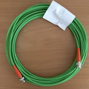 SDI-Kabel 2 m High Quality Kabel mit Knickschutz orange