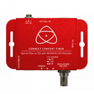 Atomos Connect Convert Fiber Fiber to SDI