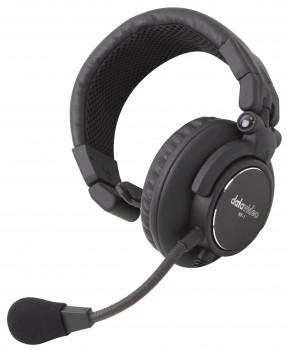 DataVideo HP-1E einseitiger Kopfhörer mit Mikrofon für ITC-100