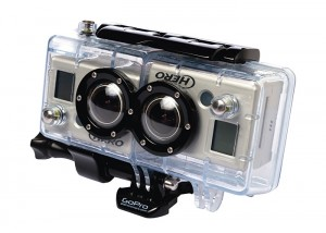 GoPro 3D HERO Housing & Sync Cable
