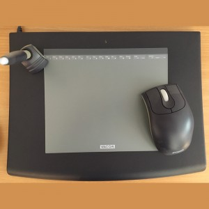 Wacom Intuos2 USB XD-0608U ( Gebrauchtgerät )