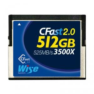 Wise CFast 2.0 Card 512 GB
