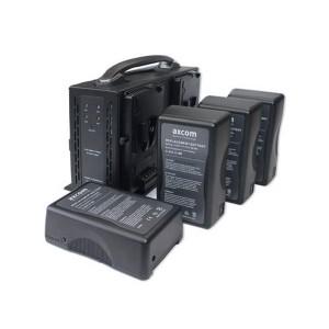 Axcom Bundle SM-CPVM-4 + 4 x U-SVLO-150-UD